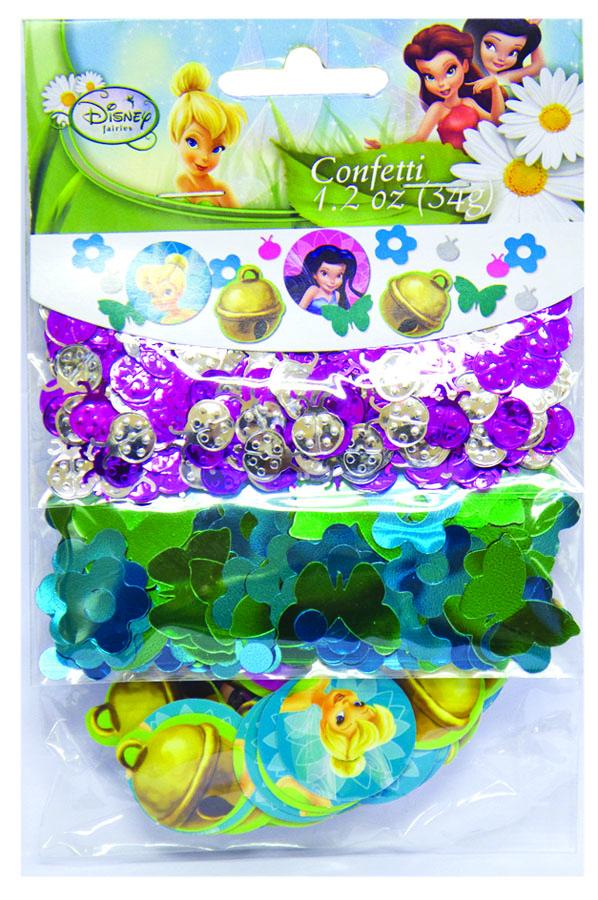 Конфетти Disney Феи 3 вида 34гр/A1501-2110
