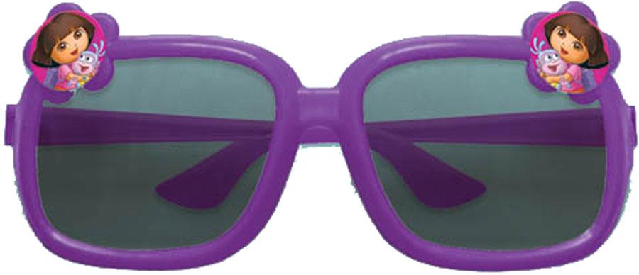 Веселая затея Очки Даша-путешественница цвет сиреневый1501-2349