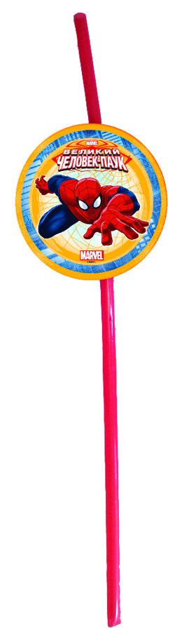 Веселая затея Трубочка для коктейля Великий Человек-паук 6 шт1502-1173Невозможно представить нашу жизнь без праздников! Мы всегда ждем и предвкушаем их, обдумываем, как проведем памятный день, тщательно выбираем подарки и аксессуары, ведь именно они создают и поддерживают праздничный настрой. Перед вами яркие трубочки для коктейля с медальонами, на которых Человек-паук уже подбирается к вам! В упаковке 6 трубочек.