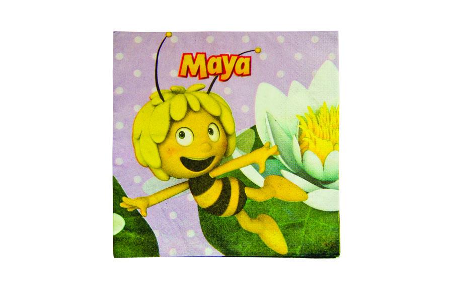 Салфетка Пчелка Майя 33см 16шт/А