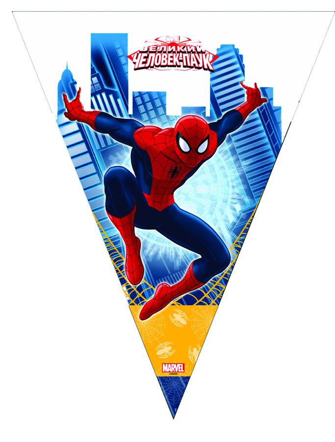Гирлянда-вымп Marvel Человек-Паук 360смG1505-0558