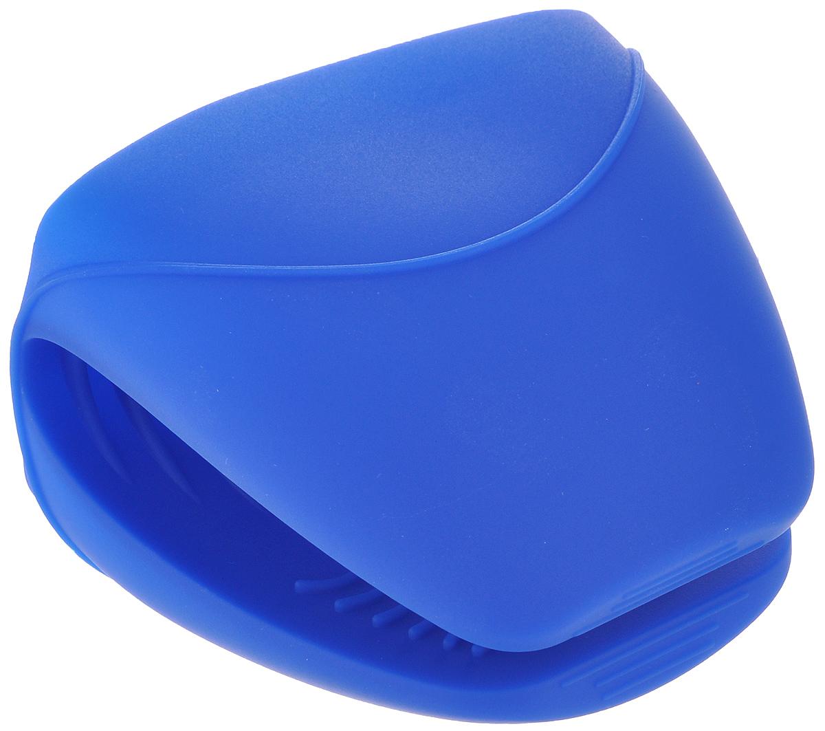 Прихватка Sagaform, цвет: синий5015803Прихватка Sagaform изготовлена из высококачественного силикона и предназначена для защиты рук от ожогов во время приготовления пищи. Она станет отличным украшением кухни или замечательным подарком знакомому кулинару. С помощью прихватки Sagaform можно доставать горячие блюда из духовки, не боясь обжечься. Прихватка выдерживает высокие температуры (от -40°С до +240°С), а качественный материал служит залогом длительный службы изделия. Рифленая поверхность прихватки препятствует выскальзыванию предметов из рук, а яркая расцветка поднимает настроение. Можно мыть в посудомоечной машине.