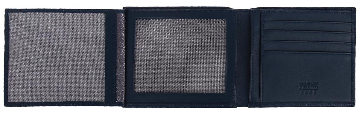 Портмоне мужское Petek 1855, цвет: темно-синий. 140. 167. 88