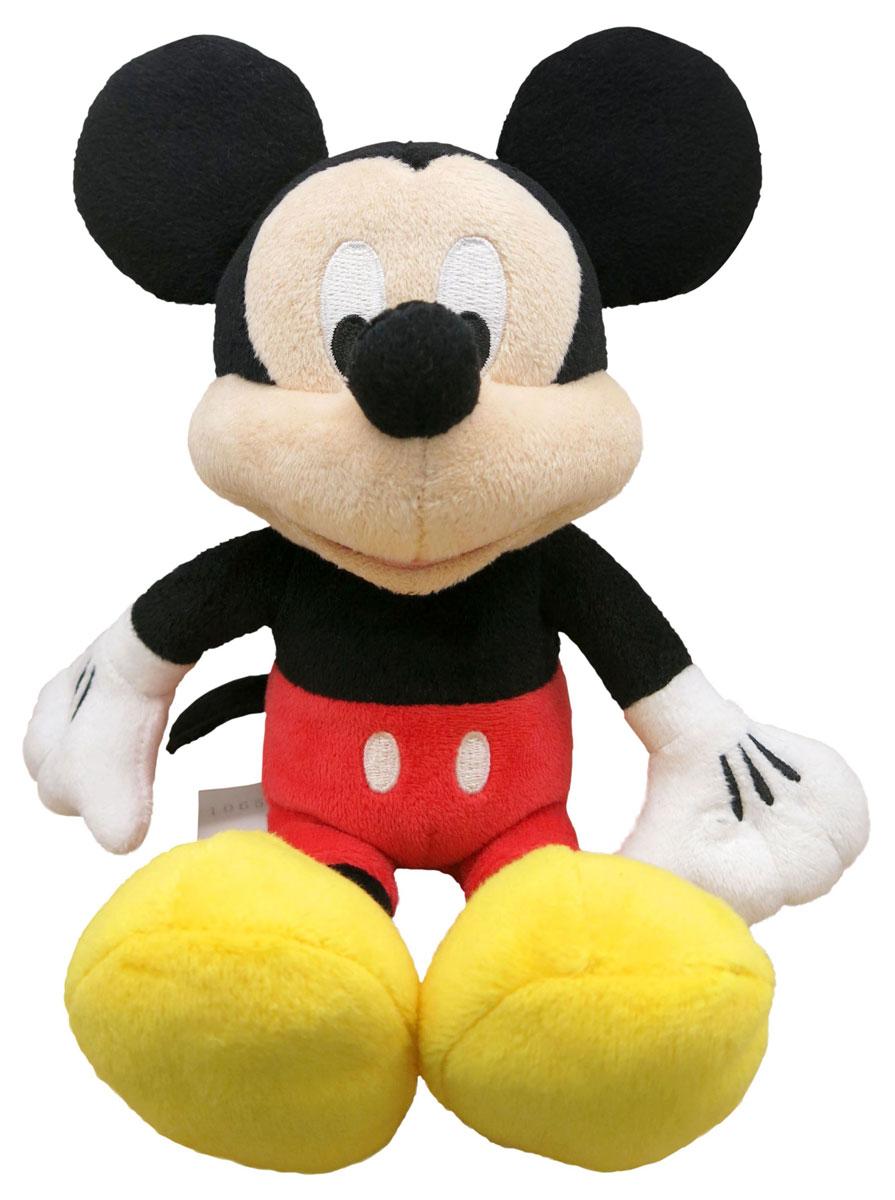 Disney Мягкая игрушка Микки Маус 22 см10467Мягкая игрушка Disney Микки Маус - это милый мышонок, герой известных мультфильмов. Игрушка Микки - придется по душе как ребенку, так и взрослому человеку, выросшему на мультфильмах Диснея. Игрушка имеет очень удобный размер - она достаточно компактна, не занимает много места, в то же время, достаточно большая для того чтобы ребенок мог ее обнимать, брать с собой в кровать. Игрушка не имеет жестких пластиковых деталей, о которые ребенок мог бы пораниться. Изготовлена из качественных и безопасных материалов. Специальные гранулы, используемые при набивке, способствуют развитию мелкой моторики рук.