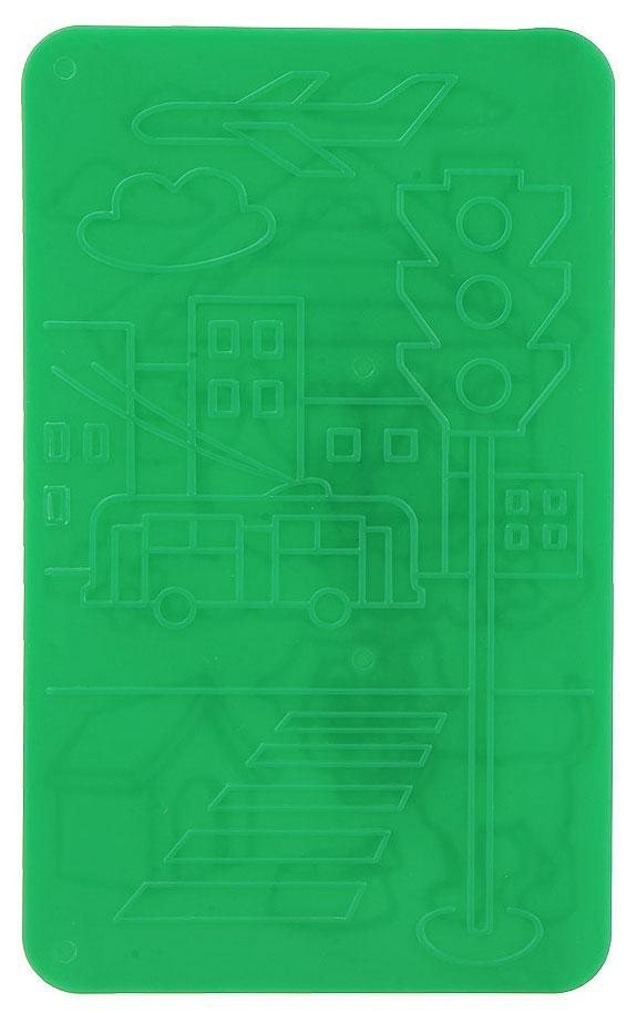 Трафареты рельефные Луч Город и деревня - 1, 2 шт, цвет: зеленый13С 987-08Трафареты рельефные Луч серии Город и деревня - 1, выполненные из безопасного пластика, предназначены для детского творчества. Трафареты не имеют традиционных прорезей - рисунок выступает над плоской поверхностью. Чтобы получить рисунок на бумаге, трафарет кладется под лист, а сверху бумага штрихуется с помощью восковых карандашей. Метод штриховки особенно полезен при подготовке ребенка к школе, развивается мелкая моторика, зрительное восприятие, и вместе с тем, ребенок с увлечением учится рисовать. В упаковке два двусторонних трафарета с изображением городских улиц и деревенских пейзажей. Трафареты предназначены для работы с восковыми карандашами. Трафареты могут быть использованы для организации игровых моментов на уроках ознакомления с окружающим миром, письма и рисования.