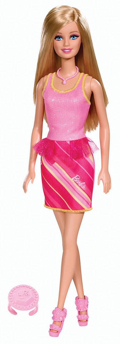 Barbie Кукла Барби в модной одежде цвет наряда розовый