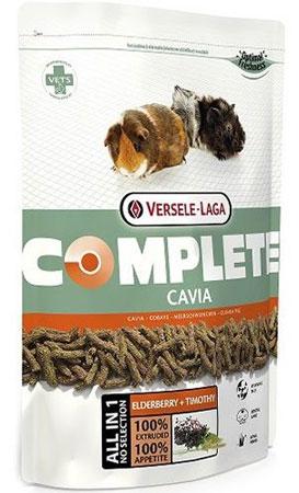 Корм для морских свинок Versele-Laga Cavia Complete, комплексный, 500 г461251Versele-Laga Cavia Complete - это полноценный и вкусный корм для морских свинок, состоящий на 100 % из легкоусвояемых экструдированных гранул. Уход за зубами Проблемы с зубами часто встречаются у морских свинок. Обычно это следствие применения неподходящего корма, в котором не хватает ингредиентов, способствующих естественному стачиванию и постоянному росту зубов. Добавление специальных цельных волокон в гранулы Cavia Complete способствует усиленной жевательной деятельности животного, обеспечивая необходимое стачивание зубов и поддержание здоровой полости рта. Свежие овощи Процесс экструзии позволяет добавлять в гранулы свежие овощи. Добавление по крайней мере 10 % свежих овощей позволяет получить замечательный вкус. Смешивая их с клетчаткой и основой Cavia Complete, мы получаем замечательный корм для морских свинок с высокой степенью усвояемости. Длинные волокна Морские свинки это травоядные животные по своей...