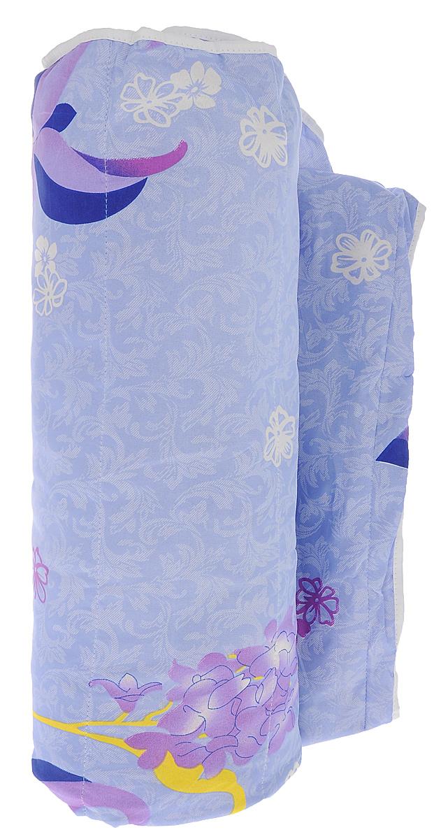 Одеяло летнее OL-Tex Miotex, наполнитель: холфитекс, цвет: голубой, сиреневый, 200 х 220 см МХПЭ-22-1МХПЭ-22-1_голубой, сиреневые цветыЛегкое летнее одеяло OL-Tex Miotex создаст комфорт и уют во время сна. Чехол выполнен из полиэстера и оформлен красочным рисунком. Внутри - современный наполнитель из полиэфирного высокосиликонизированного волокна холфитекс, упругий и качественный. Прекрасно держит тепло. Одеяло с наполнителем холфитекс легкое и комфортное. Даже после многократных стирок не теряет свою форму, наполнитель не сбивается, так как одеяло простегано и окантовано. Рекомендации по уходу: - Ручная стирка при температуре 30°С. - Не гладить. - Не отбеливать. - Сушить вертикально. Размер одеяла: 200 см х 220 см. Материал чехла: 100% полиэстер. Материал наполнителя: холфитекс.