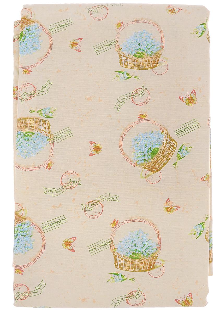 Скатерть Bon Appetit Ландыши, 140 x 180 см57913Скатерть Bon Appetit Ландыши изготовлена из высококачественного хлопка и украшена оригинальным и ярким рисунком. Качество материала гарантирует безопасность не только взрослых, но и самых маленьких членов семьи. Скатерть поможет создать атмосферу уюта и домашнего тепла в интерьере вашей кухни, а также станет настоящим украшением праздничного или повседневного стола.