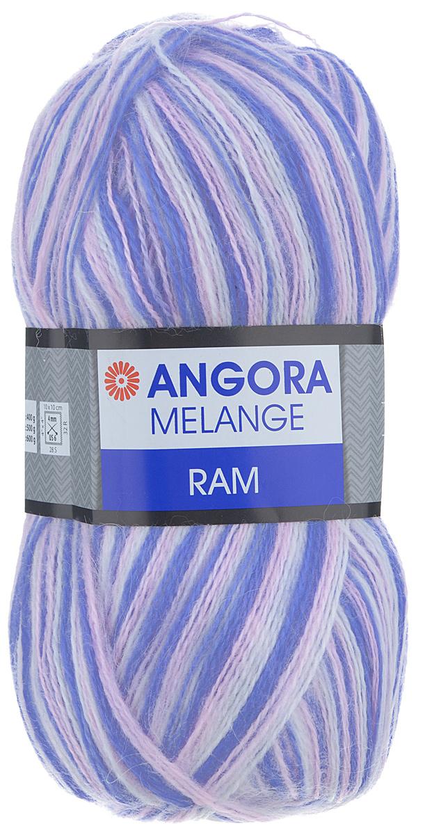 Пряжа для вязания YarnArt Angora Ram. Melange, цвет: сиреневый, светло-розовый, белый (712), 500 м, 100 г, 5 шт486194_712Пряжа для вязания YarnArt Angora Ram. Melange состоит из 40% мохера и 60% акрила. Такая пряжа подойдет для вязки шарфов, шапок, свитеров и другой теплой одежды. Пряжа приятная на ощупь, изделия из нее получаются мягкие, теплые и приятные к телу. Стирка при температуре не более 30°С. Рекомендованные для вязания спицы 4 мм. Состав: 40% мохер, 60% акрил.