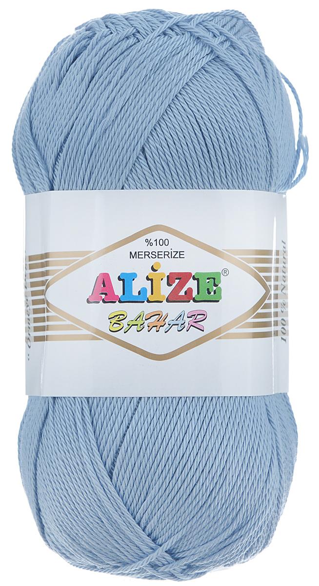Пряжа для вязания Alize Bahar, цвет: светло-голубой (350), 260 м, 100 г, 5 шт364089_350Пряжа Alize Bahar подходит для ручного вязания детям и взрослым. Пряжа однотонная, приятная на ощупь, хорошо лежит в полотне. Изделия из такой нити получаются мягкие и красивые. Рекомендованные спицы 3-5 мм и крючок для вязания 2-4 мм. Состав: 100% хлопок.