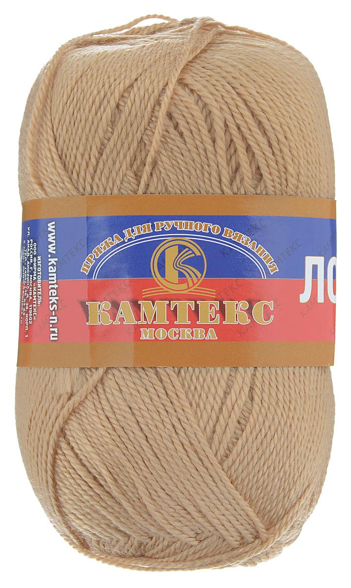 Пряжа для вязания Камтекс Лотос, цвет: светло-коричневый (005), 300 м, 100 г, 10 шт136083_005Пряжа для вязания Камтекс Лотос изготовлена из 100% акрила. Пряжа имеет приятную мягкость, вяжется очень легко, совершенно не путаясь. По своим свойствам акриловая нить близка к шерсти. Только в отличие от шерсти, она приятна для тела, совсем не колется, не раздражает кожу, подходит даже для детей. Существует вероятность, что изделие может слегка растянуться, но этого можно избежать деликатным обращением и плотной вязкой. Пряжа Лотос подходит для вязания и крючками, и спицами, хорошо получаются любые виды узоров. Идеальный вариант для вязания демисезонных головных уборов, жакетов, свитеров, болеро, детской одежды. Пряжа имеет приятный благородный блеск. Богатая цветовая палитра, смелые и насыщенные оттенки. Рекомендуемый размер крючка и спиц: №3-5. Состав: 100% акрил. Толщина нити: 1,5 мм.
