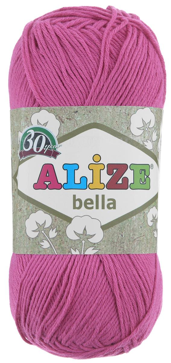 Пряжа для вязания Alize Bella, цвет: ярко-розовый (489), 180 м, 50 г, 5 шт364124_489Пряжа Alize Bella подходит для ручного вязания детям и взрослым. Пряжа однотонная, приятная на ощупь, хорошо лежит в полотне. Изделия из такой нити получаются мягкие и красивые. Рекомендованные спицы 2-4 мм и крючок для вязания 1-3 мм. Состав: 100% хлопок.