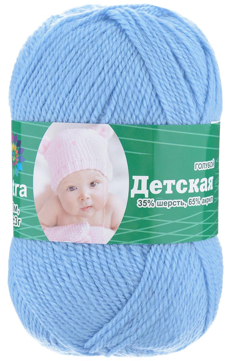 Пряжа для вязания Астра Baby, цвет: голубой, 150 м, 50 г, 4 шт488346_голубойДетская пряжа для вязания Астра Детская изготовлена из акрила с добавлением шерсти. Изделия из этой пряжи предназначены для ручной стирки. Рекомендованный размер спиц: 2-4. Рекомендованный размер крючка: 2-4. Состав: 35% шерсть; 65% акрил.