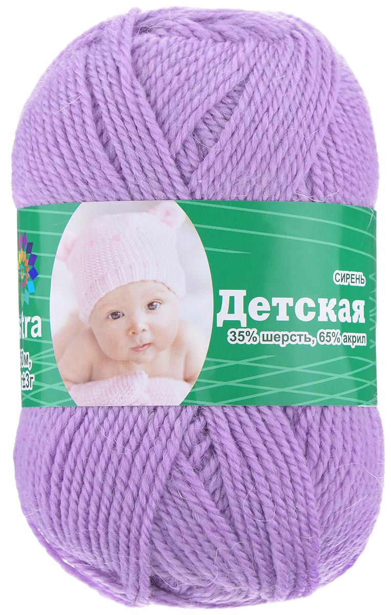 Пряжа для вязания Астра Baby, цвет: сиреневый, 150 м, 50 г, 4 шт488346_сиреньДетская пряжа для вязания Астра Детская изготовлена из акрила с добавлением шерсти. Изделия из этой пряжи предназначены для ручной стирки. Рекомендованный размер спиц: 2-4. Рекомендованный размер крючка: 2-4. Состав: 35% шерсть; 65% акрил.