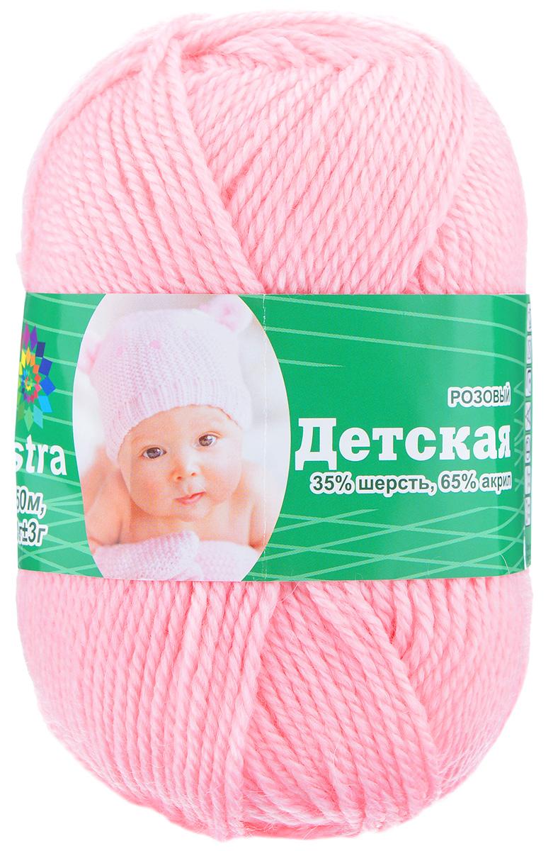 Пряжа для вязания Астра Baby, цвет: розовый, 150 м, 50 г, 4 шт488346_розовыйДетская пряжа для вязания Астра Детская изготовлена из акрила с добавлением шерсти. Изделия из этой пряжи предназначены для ручной стирки. Рекомендованный размер спиц: 2-4. Рекомендованный размер крючка: 2-4. Состав: 35% шерсть; 65% акрил.