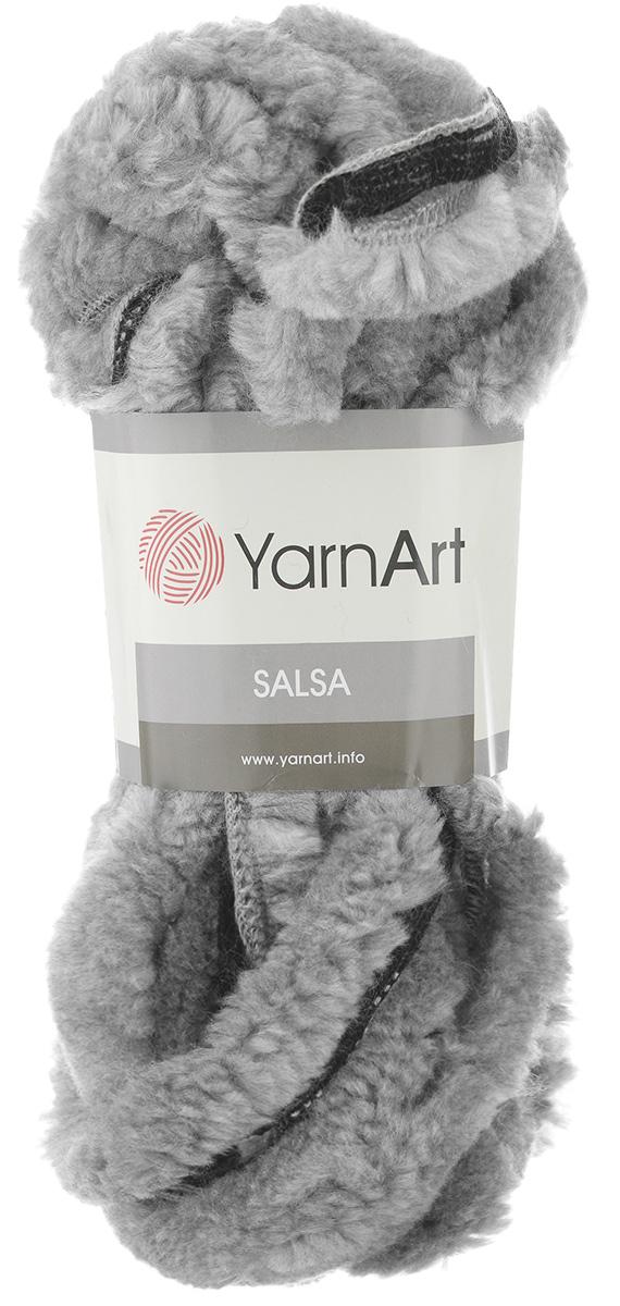 Пряжа для вязания YarnArt Salsa, цвет: серый, черный (23316), 7 м, 125 г, 4 шт694748_23316Пряжа для вязания YarnArt Salsa - фантазийная ленточная пряжа, в состав которой входит акрил. Пряжа представляет собой широкую ленту с меховым краем с одной стороны. Прекрасно подойдет для вязания шарфов, аксессуаров, а также для отделки изделий. С такой пряжей вы можете быстро и не дорого сделать подарок своими руками для родных и близких людей. Рекомендованы спицы 8 мм. Состав: 100% акрил. Комплектация: 4 мотка.