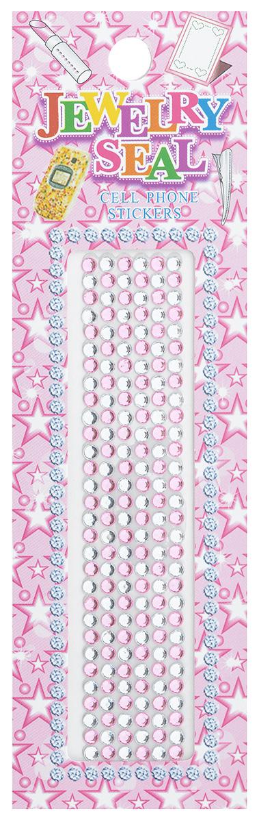 Наклейки декоративные Jewelry Seal, цвет: серебристый, светло-розовый, диаметр 2 мм, 180 шт7701031_1040/7476Декоративные наклейки Jewelry Seal, изготовленные из пластика, прекрасно подойдут для оформления творческих работ в технике скрапбукинга. Их можно использовать для украшения фотоальбомов, скрап-страничек, подарков, конвертов, фоторамок, открыток и т.д. Объемные наклейки круглой формы имеют одну клейкую сторону. Скрапбукинг - это хобби, которое способно приносить массу приятных эмоций не только человеку, который этим занимается, но и его близким, друзьям, родным. Это невероятно увлекательное занятие, которое поможет вам сохранить наиболее памятные и яркие моменты вашей жизни, а также интересно оформить интерьер дома. Диаметр наклейки: 2 мм.