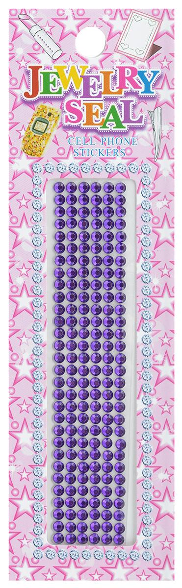 Наклейки декоративные Jewelry Seal, цвет: фиолетовый, диаметр 2 мм, 180 шт7701031_1056/7629Декоративные наклейки Jewelry Seal, изготовленные из пластика, прекрасно подойдут для оформления творческих работ в технике скрапбукинга. Их можно использовать для украшения фотоальбомов, скрап-страничек, подарков, конвертов, фоторамок, открыток и т.д. Объемные наклейки круглой формы имеют одну клейкую сторону. Скрапбукинг - это хобби, которое способно приносить массу приятных эмоций не только человеку, который этим занимается, но и его близким, друзьям, родным. Это невероятно увлекательное занятие, которое поможет вам сохранить наиболее памятные и яркие моменты вашей жизни, а также интересно оформить интерьер дома. Диаметр наклейки: 2 мм.