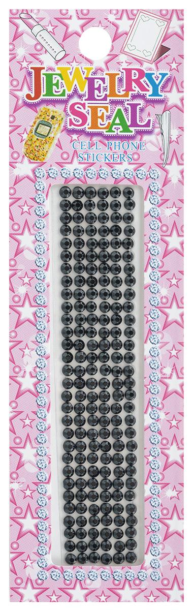 Наклейки декоративные Jewelry Seal, цвет: черный, диаметр 2 мм, 180 шт7701031_1051/7544Декоративные наклейки Jewelry Seal, изготовленные из пластика, прекрасно подойдут для оформления творческих работ в технике скрапбукинга. Их можно использовать для украшения фотоальбомов, скрап-страничек, подарков, конвертов, фоторамок, открыток и т.д. Объемные наклейки круглой формы имеют одну клейкую сторону. Скрапбукинг - это хобби, которое способно приносить массу приятных эмоций не только человеку, который этим занимается, но и его близким, друзьям, родным. Это невероятно увлекательное занятие, которое поможет вам сохранить наиболее памятные и яркие моменты вашей жизни, а также интересно оформить интерьер дома. Диаметр наклейки: 2 мм.
