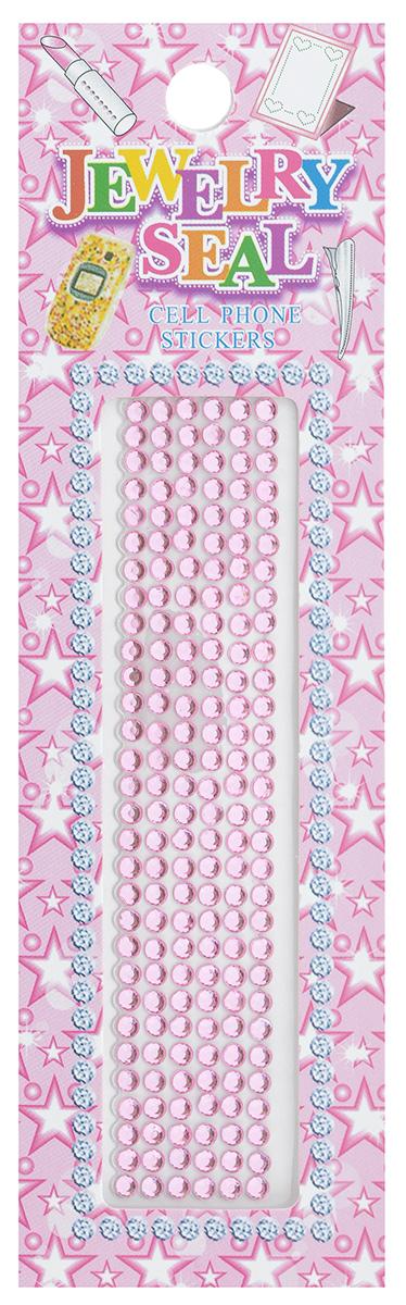 Наклейки декоративные Jewelry Seal, цвет: светло-розовый, диаметр 2 мм, 180 шт7701031_1054/7605Декоративные наклейки Jewelry Seal, изготовленные из пластика, прекрасно подойдут для оформления творческих работ в технике скрапбукинга. Их можно использовать для украшения фотоальбомов, скрап-страничек, подарков, конвертов, фоторамок, открыток и т.д. Объемные наклейки круглой формы имеют одну клейкую сторону. Скрапбукинг - это хобби, которое способно приносить массу приятных эмоций не только человеку, который этим занимается, но и его близким, друзьям, родным. Это невероятно увлекательное занятие, которое поможет вам сохранить наиболее памятные и яркие моменты вашей жизни, а также интересно оформить интерьер дома. Диаметр наклейки: 2 мм.