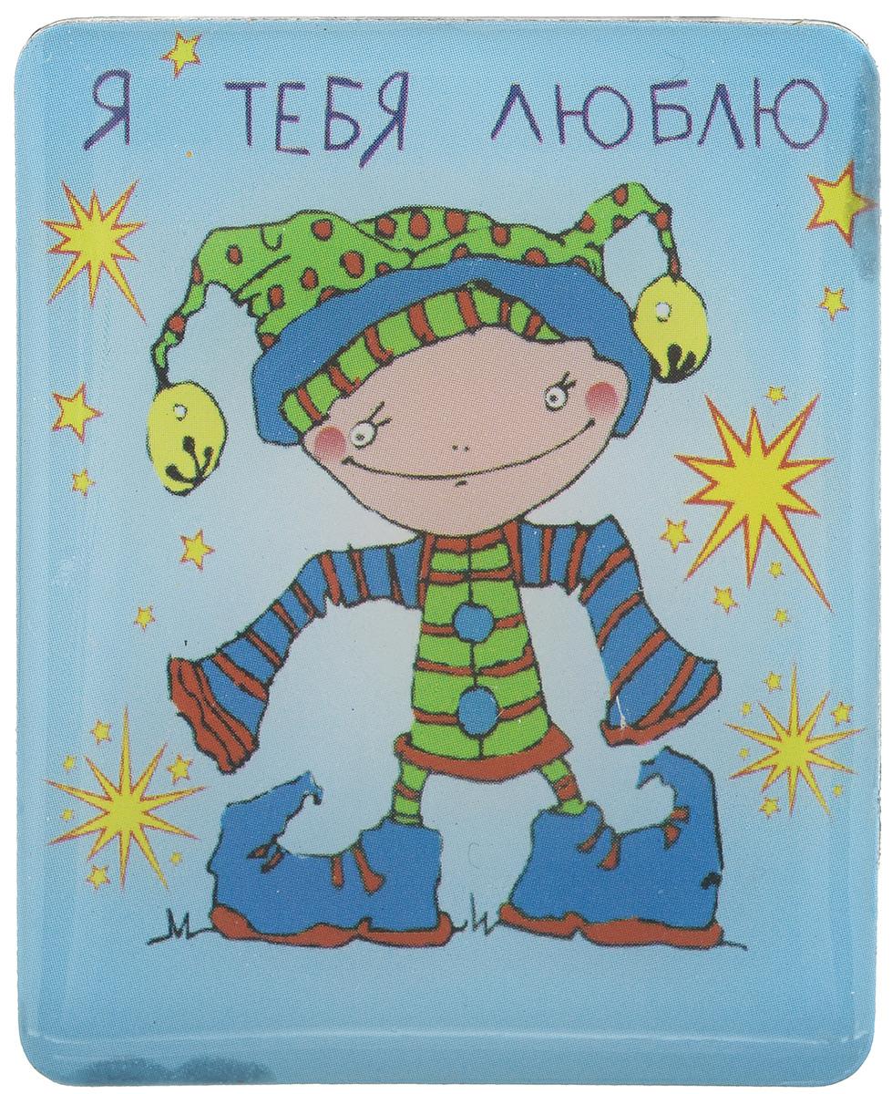 Магнит Феникс-презент Я тебя люблю, 4,5 x 5,5 см17235Магнит прямоугольной формы Феникс-презент Я тебя люблю, выполненный из агломерированного феррита, станет приятным штрихом в повседневной жизни. Оригинальный магнит, декорированный изображением влюбленного мальчишки, поможет вам украсить не только холодильник, но и любую другую магнитную поверхность. Материал: агломерированный феррит.