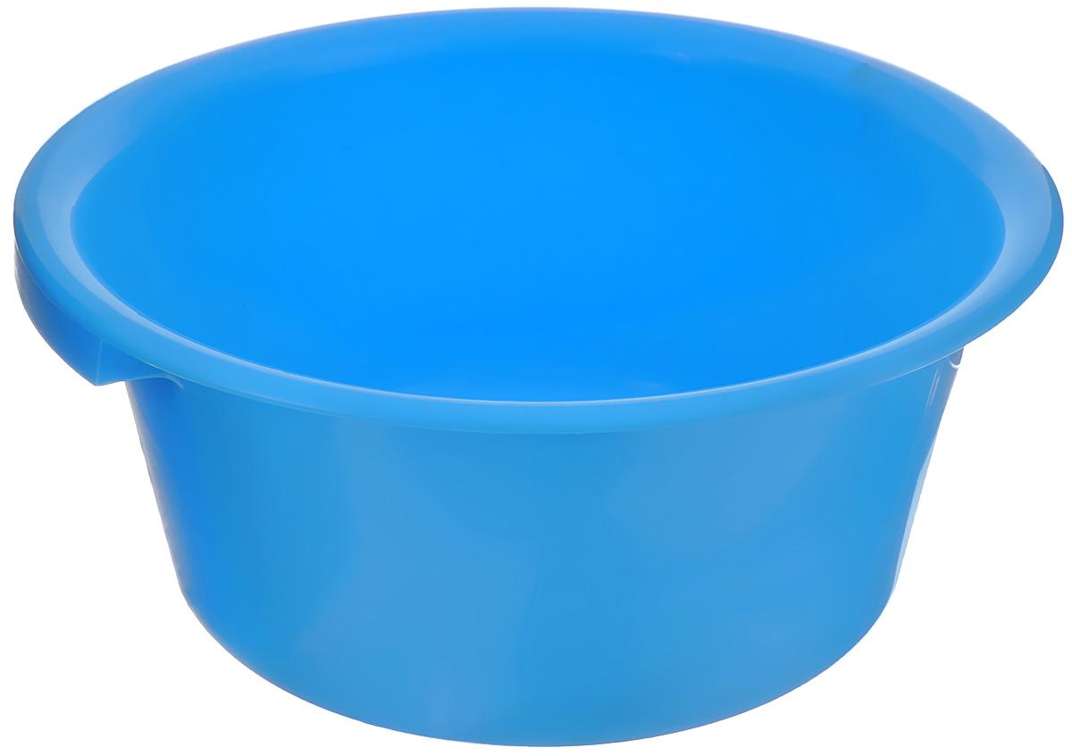 Таз хозяйственный Альтернатива, цвет: голубой, 9 лМ1106_голубойТаз Альтернатива изготовлен из высококачественного пластика. Он выполнен в классическом круглом варианте. Для удобного использования изделие снабжено двумя ручками. Таз предназначен для стирки и хранения разных вещей. Он пригодится в любом хозяйстве. Диаметр (по верхнему краю): 35 см. Высота: 15 см.