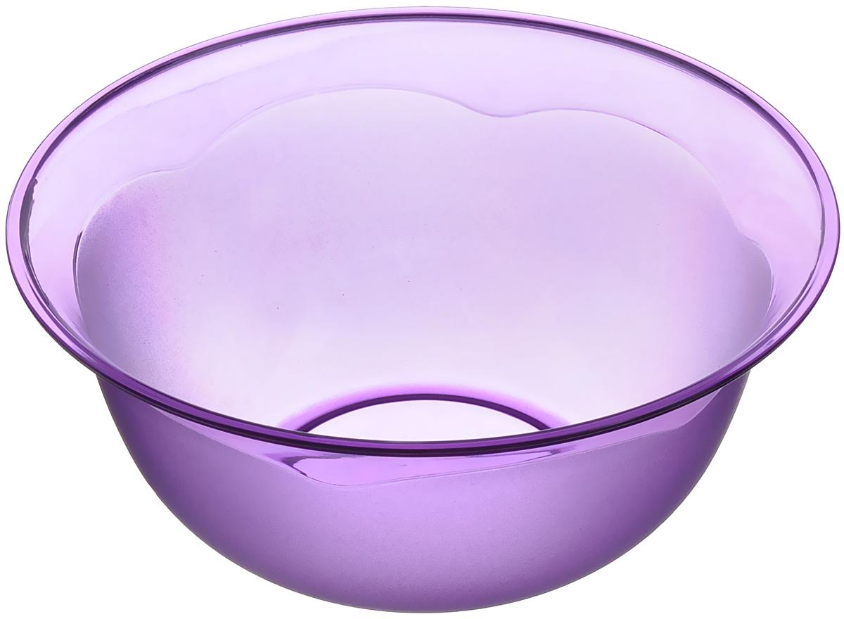 Миска Dunya Plastik, цвет: фиолетовый, 1,4 л. 1116311163_фиолетовыйМиска Dunya Plastik изготовлена из пищевого пластика круглой формы. Внешние стенки миски матовые. Изделие очень функционально, оно пригодится на кухне для самых разнообразных нужд: в качестве салатника, миски, тарелки. Можно мыть в посудомоечной машине. Объем: 1,4 л. Диаметр: 18,5 см. Высота стенки: 8,5 см.