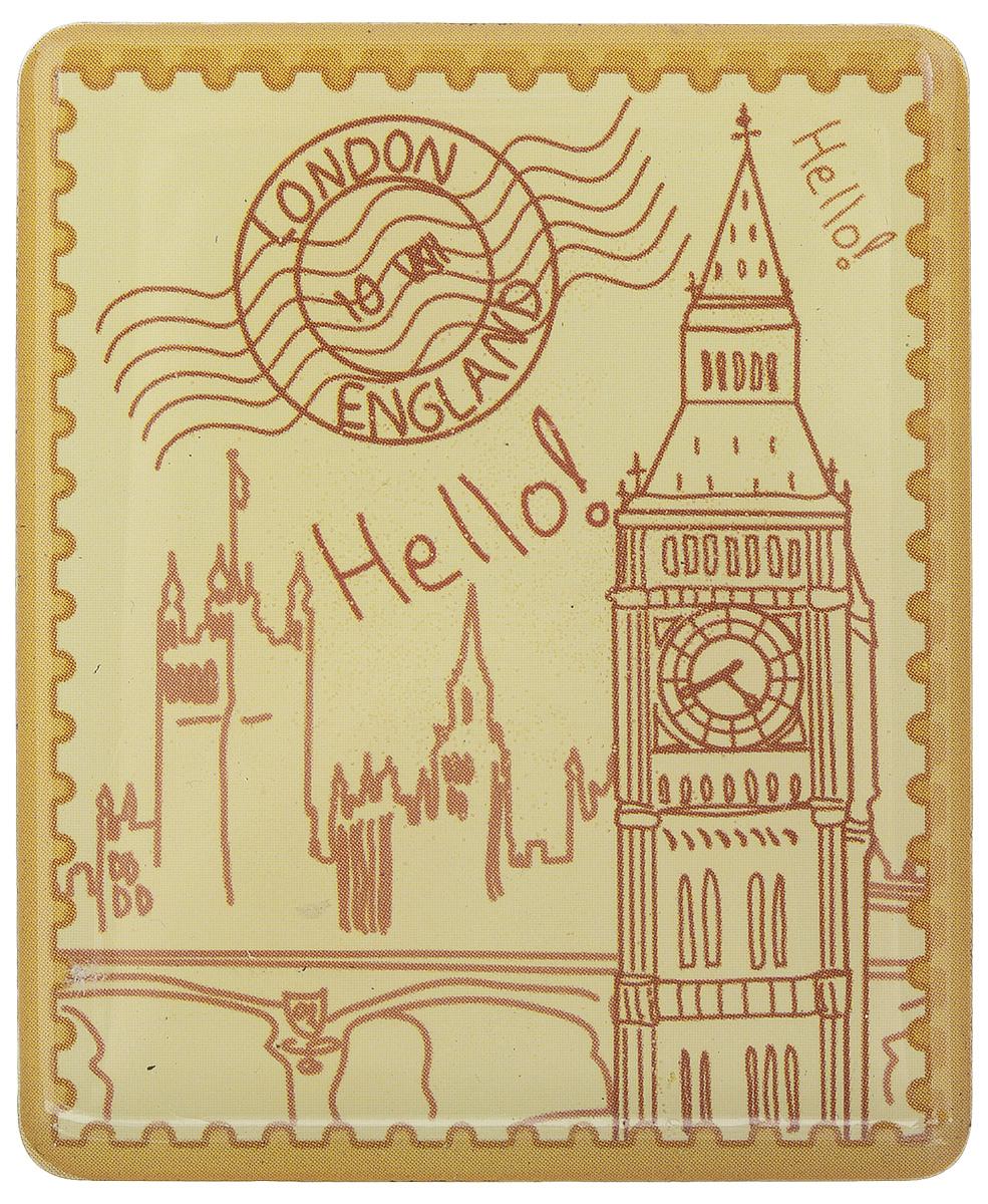 Магнит Феникс-презент Лондон, 4,5 x 5,5 см27191Магнит прямоугольной формы Феникс-презент Лондон, выполненный из агломерированного феррита, станет приятным штрихом в повседневной жизни. Оригинальный магнит, декорированный изображением Биг-Бена, поможет вам украсить не только холодильник, но и любую другую магнитную поверхность. Материал: агломерированный феррит.