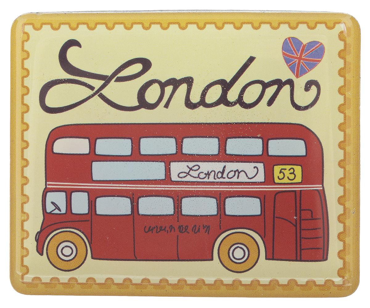 Магнит Феникс-презент Путешествие по Лондону, 4,5 x 5,5 см27189Магнит прямоугольной формы Феникс-презент Путешествие по Лондону, выполненный из агломерированного феррита, станет приятным штрихом в повседневной жизни. Оригинальный магнит, декорированный изображением лондонского автобуса, поможет вам украсить не только холодильник, но и любую другую магнитную поверхность. Материал: агломерированный феррит.