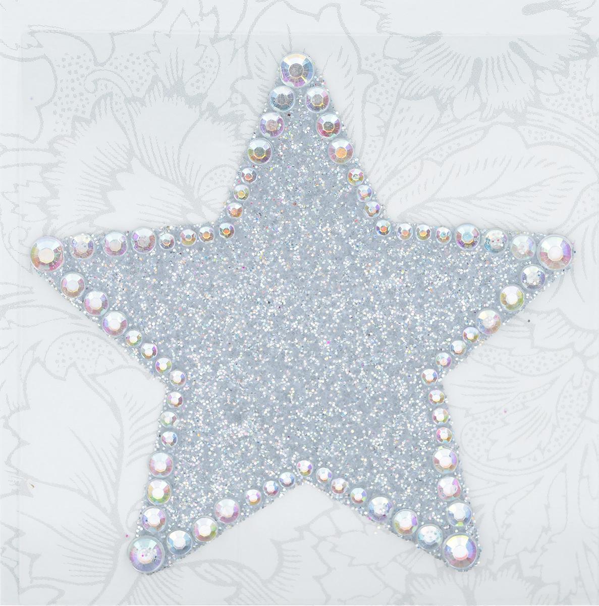 Наклейка декоративная Астра, 5,5 см х 5,7 см7708381_572628Декоративная наклейка Астра изготовлена из высококачественного акрила в виде звезды. Фигура украшена стразами и блестками. Изделие оснащено задней клейкой стороной. Такая наклейка подойдет для оформления одежды, бытовой техники, открыток, интерьера и многого другого. Декоративная наклейка поможет добавить оригинальности и эксклюзивности окружающих вас предметов и будет радовать глаз.