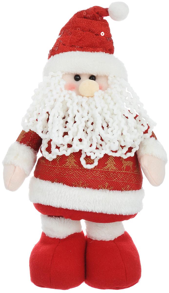 Фигура декоративная Lunten Ranta Дед Мороз, на телескопических ногах67672_1Новогодняя декоративная фигурка Lunten Ranta «Дед Мороз» прекрасно подойдет для праздничного оформления вашего дома. Сувенир выполнен из полиэстера в виде забавного Деда Мороза на телескопических ногах, которые могут изменять свою длину. Такая фигурка оформит интерьер вашего дома или офиса в преддверии Нового года. Оригинальный дизайн и красочное исполнение создадут праздничное настроение. Кроме того, это отличный вариант подарка для ваших близких и друзей. Высота фигурки: 33 - 52 см.