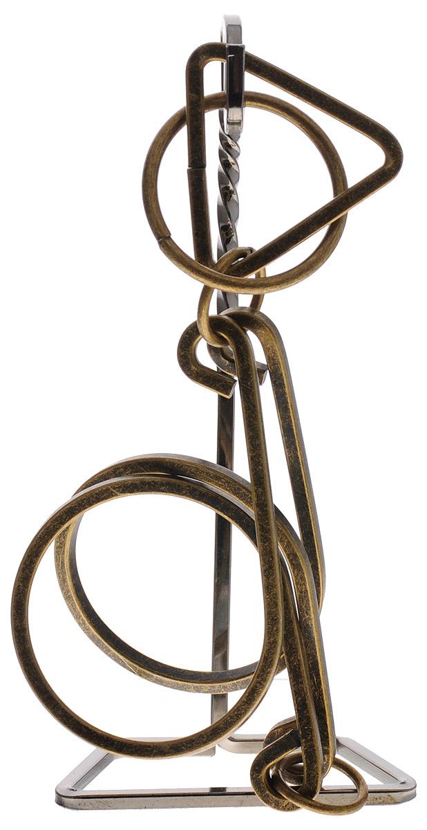 Эврика Головоломка Волшебные кольца №521087Головоломка Эврика Волшебные кольца №5 представляет собой элементы, изготовленные из металла с латунным напылением, что придает головоломке винтажный вид. Смысл решения этой головоломки в том, чтобы разъединить ее части, а затем соединить обратно. Решение головоломки - одна из самых увлекательных форм проведения досуга.