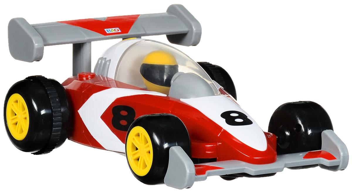 Smoby Машина на радиоуправлении RC Speeder цвет красный белый827433_красныйРадиоуправляемая модель Smoby RC Speeder, выполненная в виде гоночного болида, позволит ребенку весело провести время. Машинка может перемещаться вперед и назад. Благодаря звуковым эффектам игра становится увлекательней и реалистичней. Пульт управления с большими кнопками специально приспособлен для детских ручек. Длина машинки - 22 см.