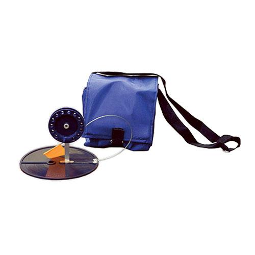 Набор жерлиц в сумке, цвет: синий, 90 мм, 5 шт6-02-0085Удобная и необходимая вещь, для ловли хищника на малька со льда. В комплект с жерлицами не входят двойники и тройники.