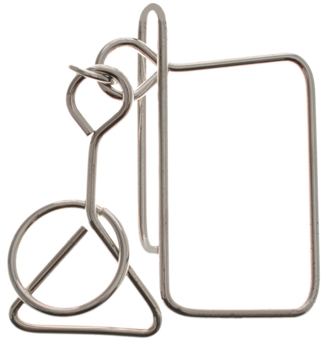 Эврика Головоломка 12 месяцев Март21035Головоломка Эврика 12 месяцев: Март представляет собой несколько элементов, изготовленных из тонкого никелированного металла. Смысл решения этой головоломки в том, чтобы разъединить ее части, а затем соединить обратно. Решение головоломки - одна из самых увлекательных форм проведения досуга. Уровень сложности - 2.