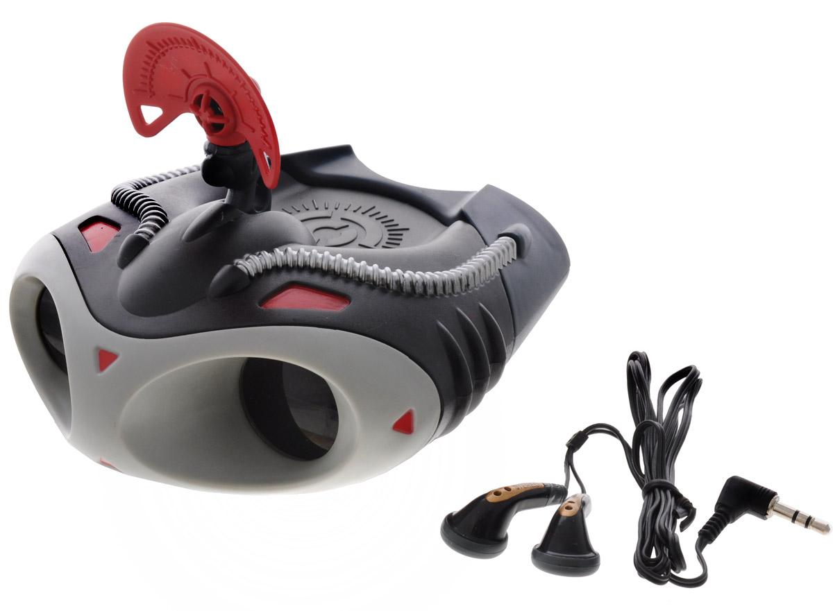 Dream Makers Игровой набор Мегабинокль1317Игровой набор Мегабинокль непременно привлечет внимание вашего ребенка и не позволит ему скучать. Шпионский бинокль с 4-х кратным увеличением позволяет рассмотреть предметы, находящиеся далеко от вас, а с помощью встроенного чувствительного подслушивающего устройства с наушниками можно также и услышать все происходящее вокруг. Такой крутой набор должен быть у каждого суперагента! Этот чудесный набор будет отличным подарком любому мальчишке. Для работы устройства необходима 1 батарейка типа LR44 (комплектуется демонстрационными).