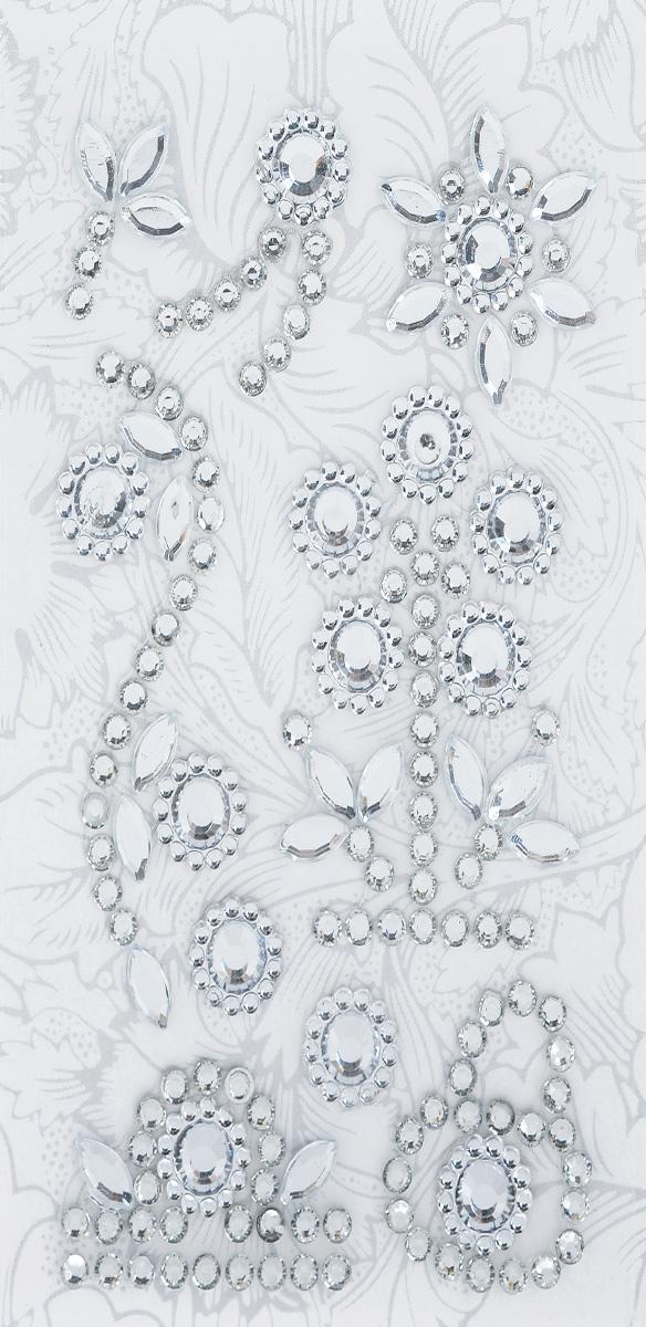 Наклейки декоративные Астра, цвет: серебристый (6), 9 шт7705719_6Декоративные наклейки Астра, изготовленные из высококачественного акрила, представлены в виде различных фигур со стразами. Изделия оснащены задней клейкой стороной. Такие наклейки подойдут для оформления украшений, бытовой техники, открыток, интерьера и многого другого. Декоративные наклейки помогут добавить оригинальности и эксклюзивности окружающих вас предметов и будут радовать глаз. Размер самой маленькой наклейки: 0,9 см х 0,9 см. Размер самой большой наклейки: 5,7 см х 2 см.