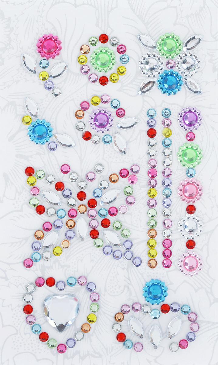 Наклейки декоративные Астра, цвет: розовый, голубой, серебристый (1), 12 шт7705720_1Декоративные наклейки Астра изготовлены из высококачественного акрила, представленные в виде бабочки, сердец и орнамента. Изделия оснащены задней клейкой стороной. Такие наклейки подойдут для оформления одежды, бытовой техники, открыток, интерьера и многого другого. Декоративные наклейки помогут добавить оригинальности и эксклюзивности окружающих вас предметов и будут радовать глаз. Средний размер наклеек: 2,4 см х 2,3 см х 0,4 см.