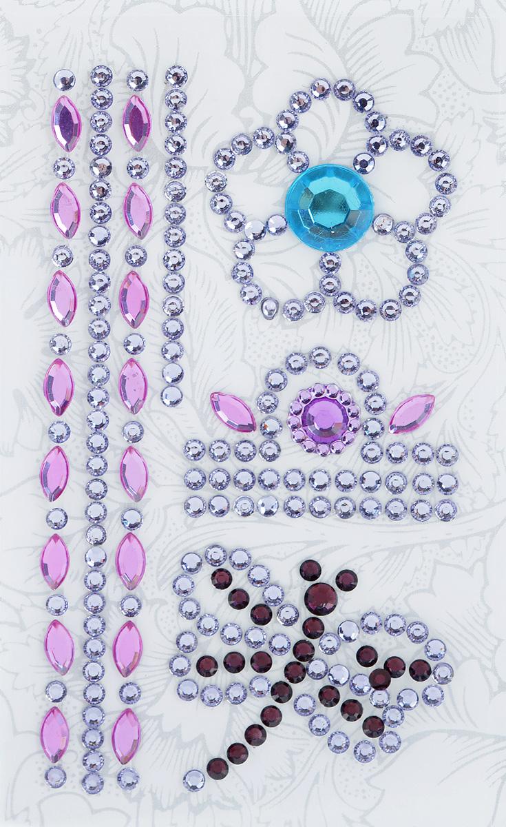 Наклейки декоративные Астра, цвет: сиреневый, голубой, черный (4), 7 шт7705721_4Декоративные наклейки Астра изготовлены из высококачественного акрила, представленные в виде цветка, стрекозы и орнамента. Изделия оснащены задней клейкой стороной. Такие наклейки подойдут для оформления одежды, бытовой техники, открыток, интерьера многого другого. Декоративные наклейки помогут добавить оригинальности и эксклюзивности окружающих вас предметов и будут радовать глаз. Средний размер наклеек: 3,8 см х 3,4 см х 0,4 см.