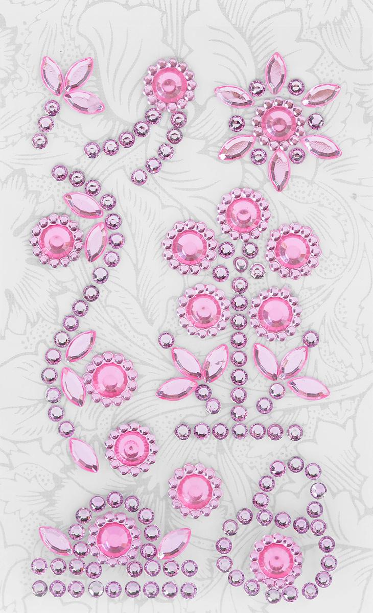 Наклейки декоративные Астра, цвет: розовый (3), 9 шт7705719_3Декоративные наклейки Астра, изготовленные из высококачественного акрила, представлены в виде различных фигур со стразами. Изделия оснащены задней клейкой стороной. Такие наклейки подойдут для оформления украшений, бытовой техники, открыток, интерьера и многого другого. Декоративные наклейки помогут добавить оригинальности и эксклюзивности окружающих вас предметов и будут радовать глаз. Размер самой маленькой наклейки: 0,9 см х 0,9 см. Размер самой большой наклейки: 5,7 см х 2 см.