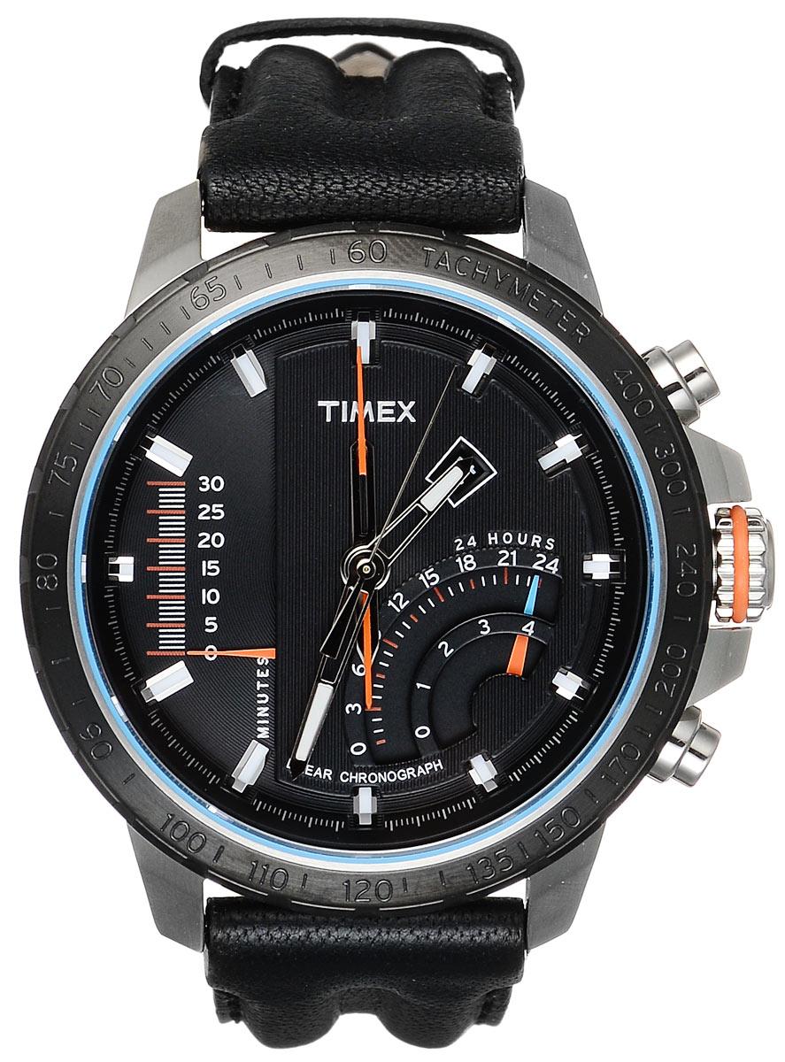 Часы мужские наручные Timex, цвет: синий, серый, черный. T2P274T2P274Стильные мужские часы Timex выполнены из нержавеющей стали, натуральной кожи и минерального стекла. Корпус часов дополнен символикой бренда, а также оригинальным и практичным ремнем из натуральной кожи. Корпус изделия изготовлен из нержавеющей стали и имеет степень влагозащиты равную 100 atm. Часы оснащены многофункциональным механизмом и дополнительными функциями, такими как мировое время, компас, хронограф, индикатор даты, альтиметр, тахиметр, индикатор приливов. Ремень изделия дополнен практичной застежкой-пряжкой, которая позволит моментально снимать и одевать часы без лишних усилий. Изделие поставляется в фирменной упаковке. Часы Timex подчеркнут мужской характер и отменное чувство стиля у их обладателя.