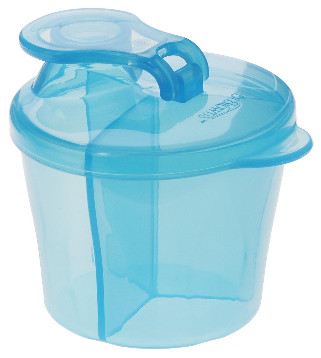 Dr.Browns Дозатор сухой смеси цвет голубой