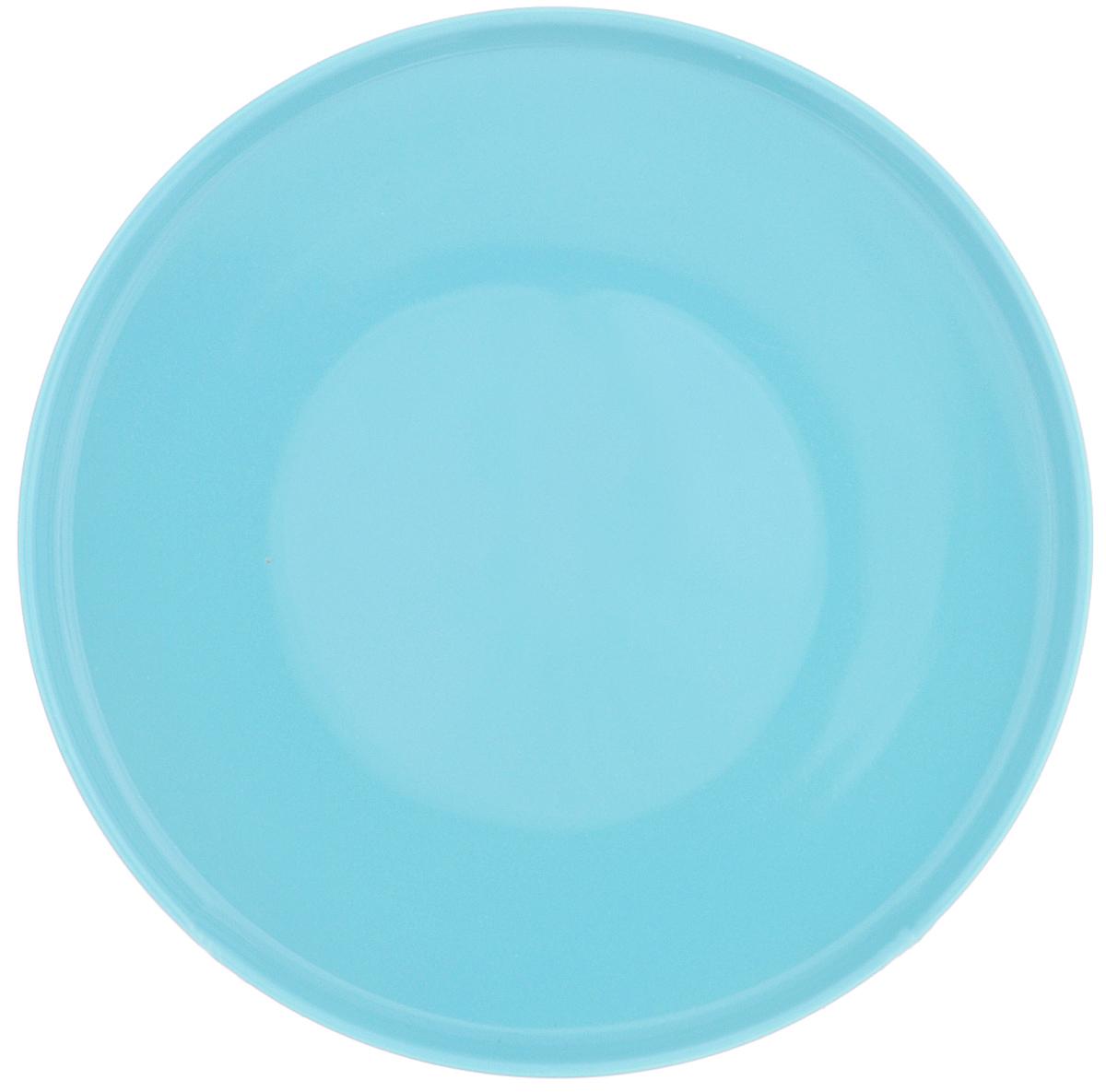Тарелка Sagaform, цвет: голубой, диаметр 19 см5016579Тарелка Sagaform  изготовлена из высококачественной керамики. Она прекрасно впишется в интерьер вашей кухни и станет достойным дополнением к кухонному инвентарю. Яркая однотонная расцветка и современный дизайн хорошо впишутся в интерьер любой кухни. Такая тарелка не только украсит ваш кухонный стол и подчеркнет прекрасный вкус хозяйки, но и станет отличным подарком. Можно мыть в посудомоечной машине. Диаметр ( по верхнему краю): 19 см. Высота: 2 см.