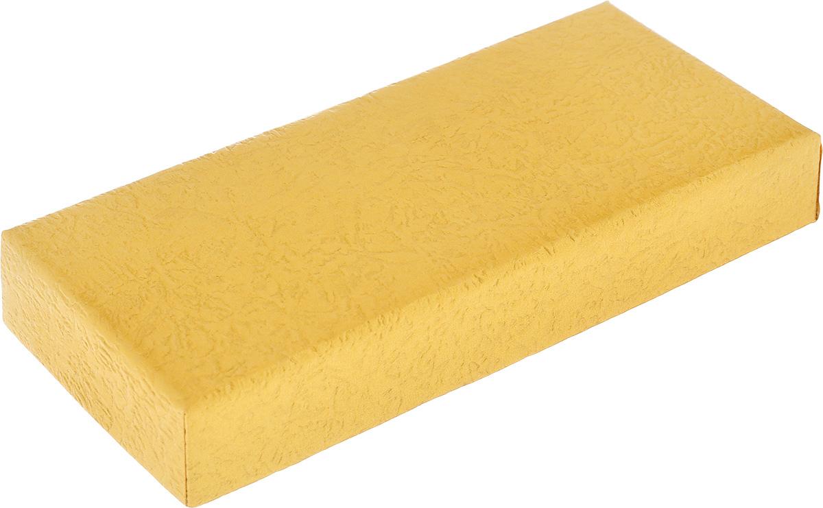 Подарочная коробка Феникс-презент, цвет: песочный, 12 х 5,2 х 2 см36288Подарочная коробка Феникс-презент выполнена из мелованного, негофрированного картона. Коробка вместительная, закрывается крышкой. Подарочная коробка - это наилучшее решение, если вы хотите порадовать ваших близких и создать праздничное настроение, ведь подарок, преподнесенный в оригинальной упаковке, всегда будет самым эффектным и запоминающимся. Окружите близких людей вниманием и заботой, вручив презент в нарядном, праздничном оформлении.