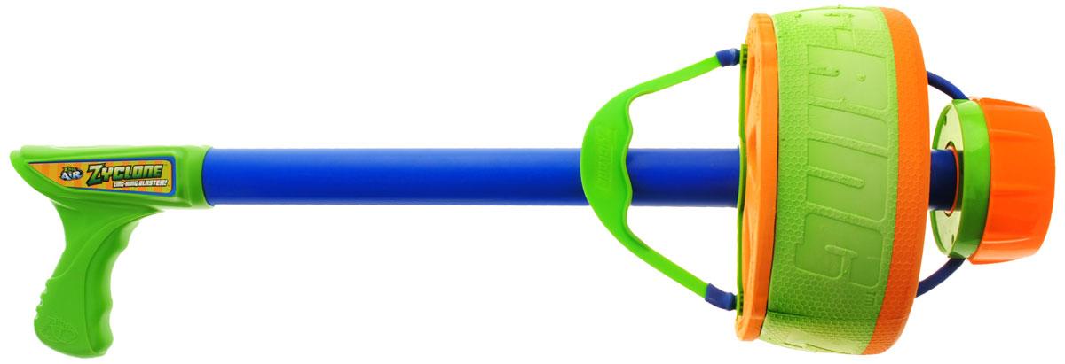 Zing Global Кольцемет ZycloneZG777Кольцемет Zing Global Zyclone - это гигантский кольцемет, который стреляет огромными мягкими кольцами на расстояние дальностью до 100 метров! Именно благодаря специальным аэродинамическим свойствам, кольца, вращаясь, летят с протяжным звуком, завершая полет точным попаданием в цель. Игрой с таким бластером можно легко увлечься и играть как одному, так и вместе с друзьями. Бластер подходит для игры на открытом воздухе.