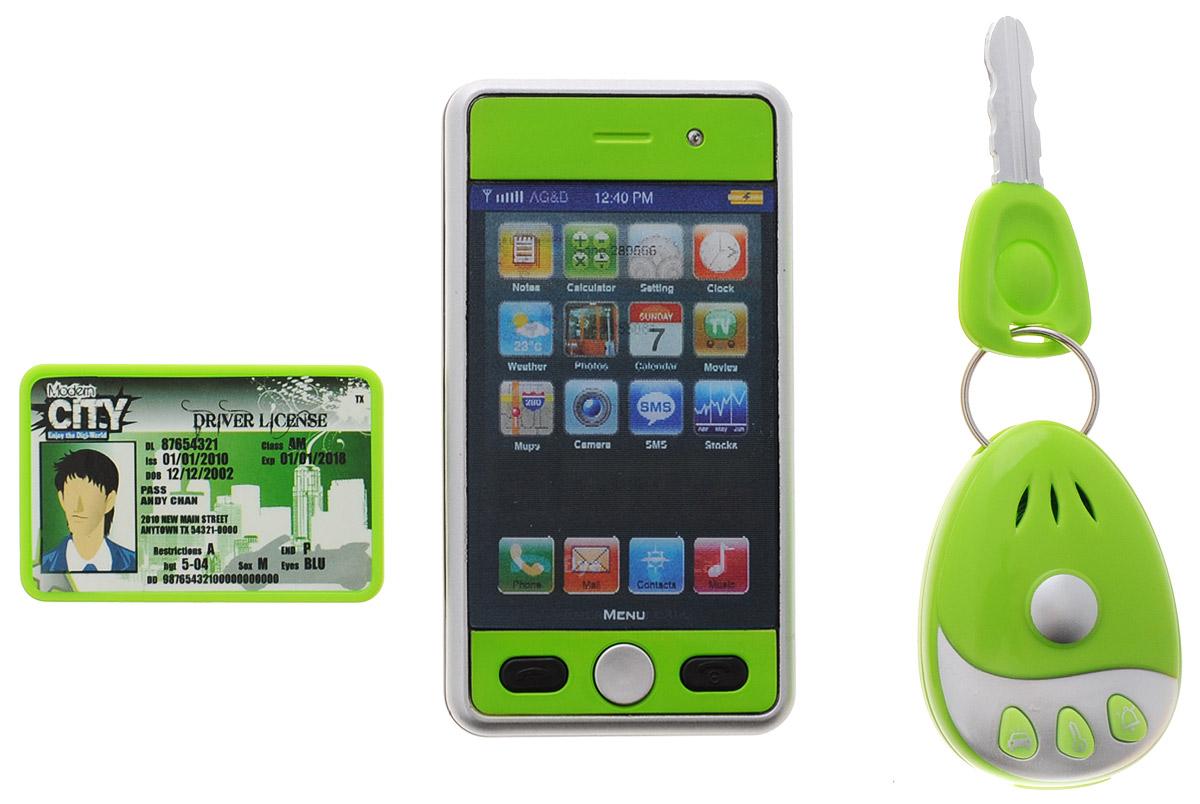 Gealex Игровой набор Modern City цвет зеленый