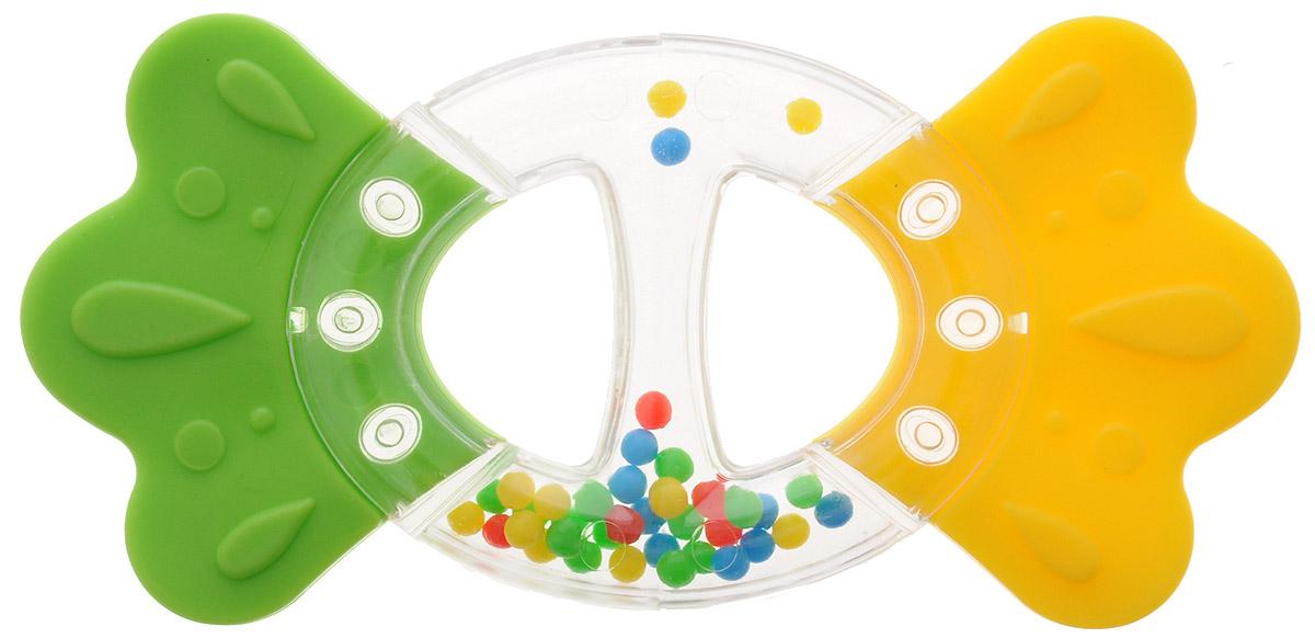 Stellar Прорезыватель Бантик цвет желтый зеленый4607038278102_желтый, зеленыйПрорезыватель - одна из важных игрушек на этапе младенчества. Он помогает разрабатывать жевательные навыки и мимику. Погремушка-прорезыватель Бантик - яркая и интересная игрушка, которая займет малютку на долгое время, а вам позволит отдохнуть. Малыш с удовольствием будет исследовать новую форму, наслаждаясь красивыми цветами. Центральная часть игрушки наполненацветными шариками, которые весело шумят при встряхивании.