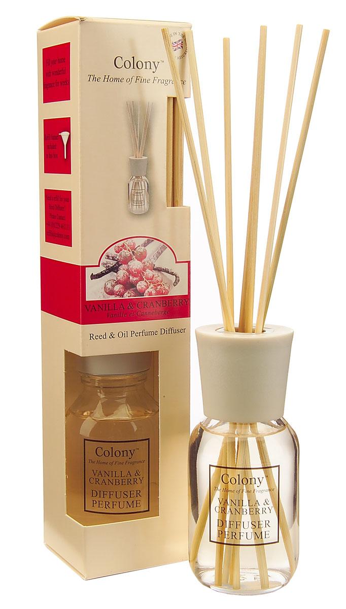 Wax Lyrical Клюква в сахаре ароматический диффузор, 120 млCH2275Поднимающий настроение аромат зимней клюквы, припорошенной сахарной пудрой с бурбонной ванилью.