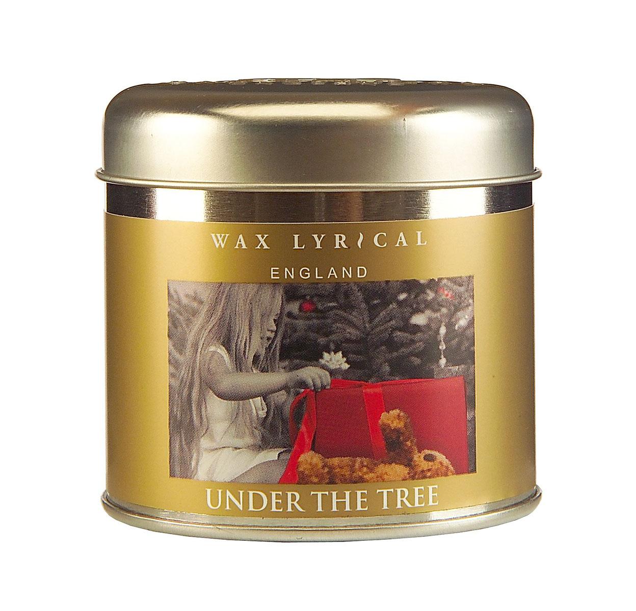 Wax Lyrical Рождественский подарок ароматизированная свеча в алюминии, 35 часовWLT8743Восхитительный, завораживающий, интригующий аромат как рождественский подарок под елкой.